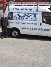 Ian, proprietor of A & I Services